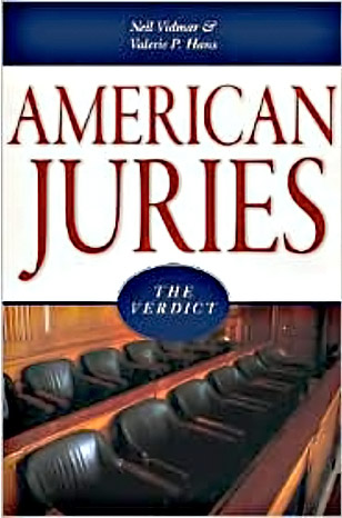 The American Jury: A Book Review