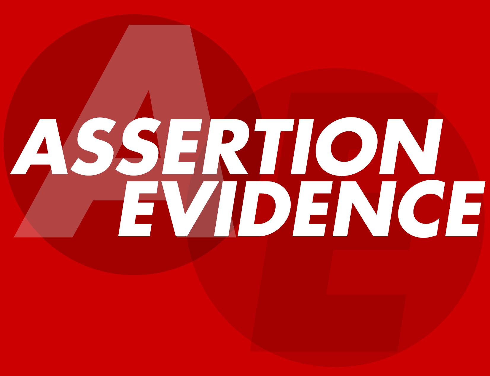 AssertionEvidenceGraphic