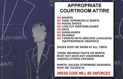 Courtroom Attire: Ensuring Witness Attire Makes the Right